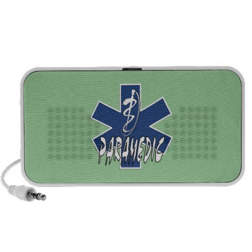 Paramedic Active Star of Life Travelling Speakers