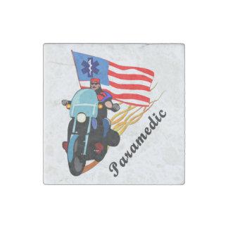 Paramedic Bikers Stone Magnet