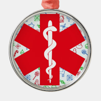 Paramedic Deluxe Round Ornament No. 1