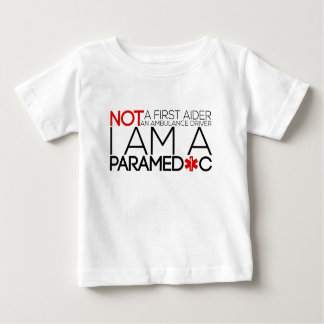 paramedic design cute baby T-Shirt