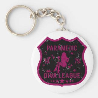 Paramedic Diva League Key Ring