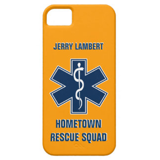 Paramedic EMT Name Template Barely There iPhone 5 Case