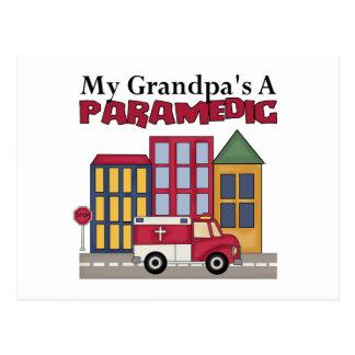 Paramedic Gift Postcards