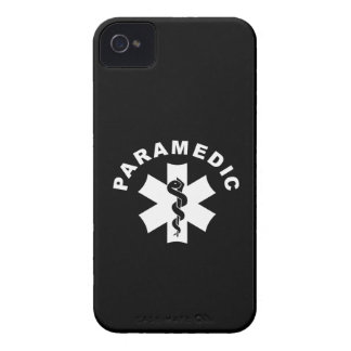 Paramedic Logo Theme iPhone 4 Case-Mate Case