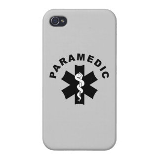 Paramedic Logo Theme Cover For iPhone 4