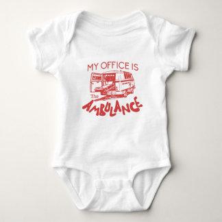 paramedic office baby bodysuit