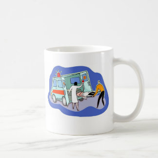 Paramedic - patient weight basic white mug
