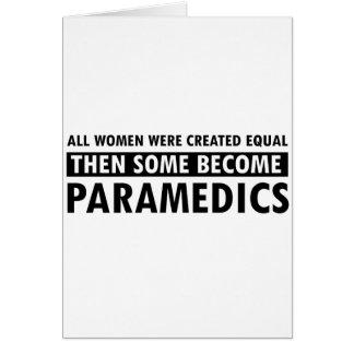 Paramedic Women s Design Card