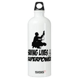 Paramedics designs SIGG traveller 1.0L water bottle