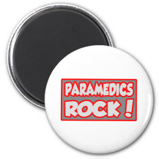 Paramedics Rock! Magnet
