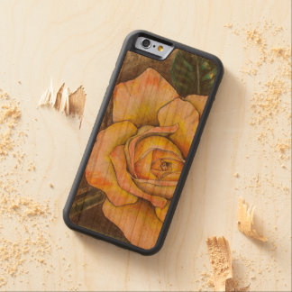 Paramore Rose Carved Cherry iPhone 6 Bumper Case