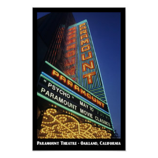 Paramount, Oakland 11x17 Poster