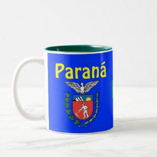 Paraná, Brazil State Coffee Mug  Caneca do Paraná