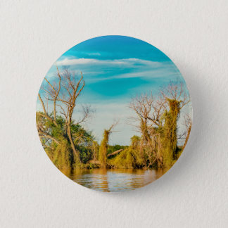 Parana River, San Nicolas, Argentina 6 Cm Round Badge