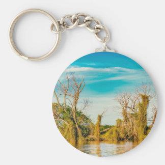 Parana River, San Nicolas, Argentina Key Ring