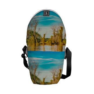 Parana River, San Nicolas, Argentina Messenger Bag