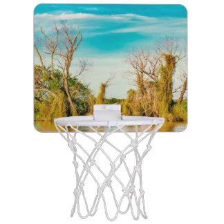Parana River, San Nicolas, Argentina Mini Basketball Hoop