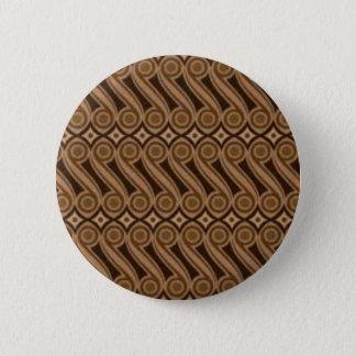 Parang's Batik 6 Cm Round Badge