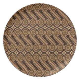Parang's Batik Plate