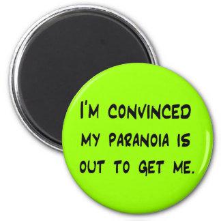 paranoia refrigerator magnet