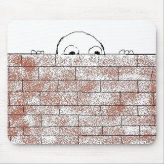 Paranoid brick - mousepad