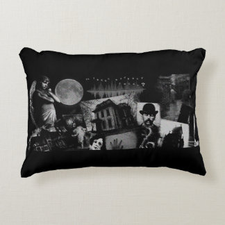Paranormal Collage Throw Pillow