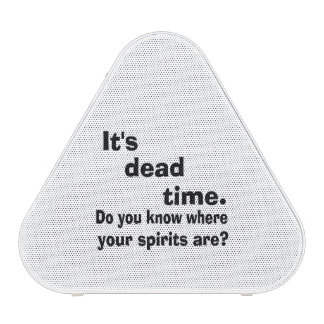 Paranormal Dead Time Bluetooth Speaker