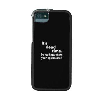 Paranormal Dead Time Public Service Announcement iPhone 5/5S Cases