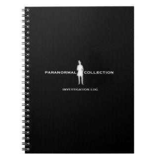 Paranormal Investigation Log Notebook