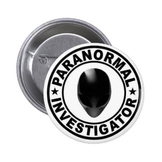 Paranormal Investigator Alien Button