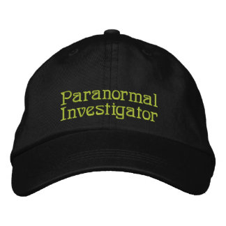 Paranormal Investigator Embroidered Hat