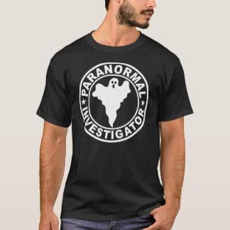 Paranormal Investigator Ghost Hunter Supernatural T-Shirt
