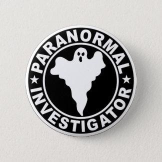 Paranormal Investigator Logo Halloween Costume 6 Cm Round Badge