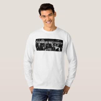Paranormal Investigator Mens Long Sleeve T T-Shirt
