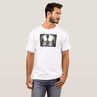 Paranormal Investigator Mens T Ghost White T-Shirt