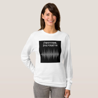 Paranormal Investigator Soundwave Womens T-Shirt