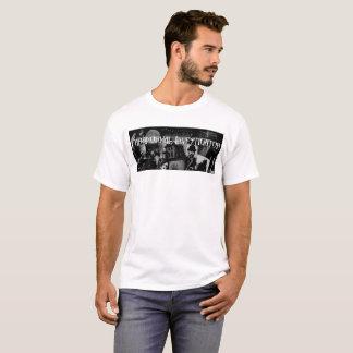 Paranormal Investigator T Shirt Men's White
