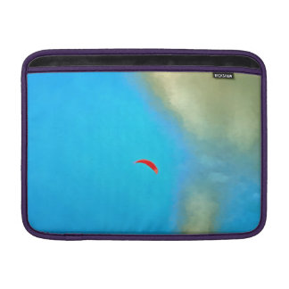 Parasailig high in the sky MacBook air sleeve