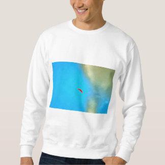 Parasailig high in the sky sweatshirt