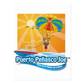 Parasailing in Mexico Postcard