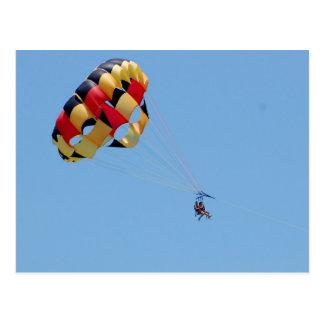 parasailing postcard