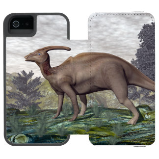 Parasaurolophus dinosaur - 3D render Incipio Watson™ iPhone 5 Wallet Case