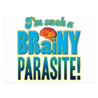 Parasite Brainy Brain Post Card