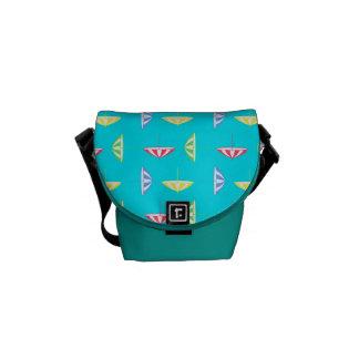 Parasol pattern commuter bag
