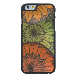 parasols for sale, bagan, myanmar carved maple iPhone 6 case