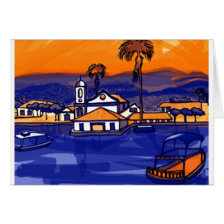 Paraty - Rio De Janeiro - Brazil Card