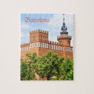 Parc de la Ciutadella in Barcelona Jigsaw Puzzle