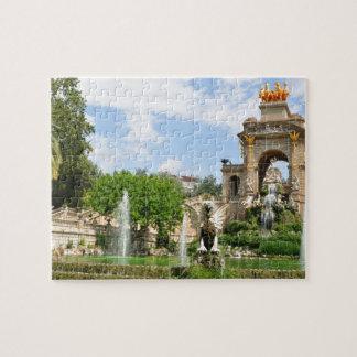 Parc de la Ciutadella in Barcelona Puzzles