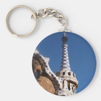 Parc Guell Gingerbread House Key Ring