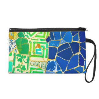 Parc Guell in Barcelona Spain Wristlet